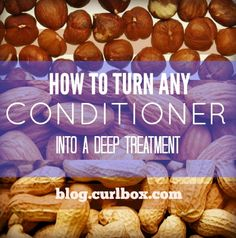 On the blog! Got a conditioner you love? Want it to have more strengthening properties? Read on. http://blog.curlbox.com/2015/03/10/how-to-turn-any-conditioner-into-a-deep-treatment/