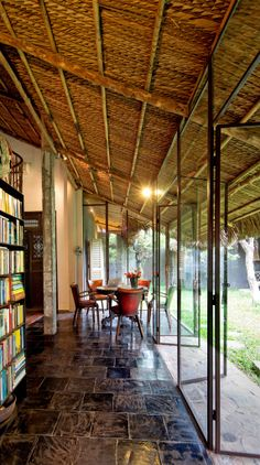A Charming Oasis In Vietnam Filipino Architecture, Philippine Architecture, Tropical Architecture, Interior Architecture, Vietnam, Filipino House, Philippine Houses, Hanoi, Rest House