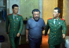 Ai Weiwei recrea su cautiverio en una muestra