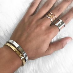2669f5cccd505 New  rings in stock  minimalism at its finest Gold platedShop link in bio  Dalits.myshopify.com women s accessories  aotd  wristcandy