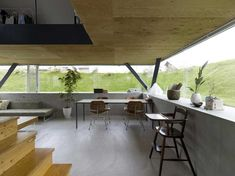 House in Saijo by Suppose Design Office | http://www.yellowtrace.com.au/beautiful-buildings-below-the-ground/ interior design, design offic, hous