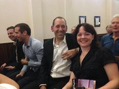 Amanda Bridgeman and myself at the Aurealis Awards.
