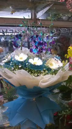 Bouquet at a flower shop...