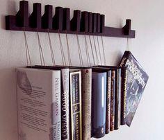 Wenge Wooden Book Rack Uncovet