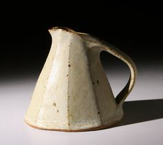 Luv this slab built cream pitcher :: nice piece.
