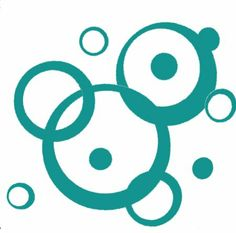 Amazon.com - Turquoise Wall Vinyl Sticker Decal Circles, Bubbles, Dots 25+ Pc - Other Products