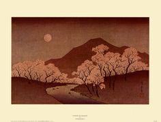 Kirschblüten Kunstdrucke von Hiroshige II bei AllPosters.de