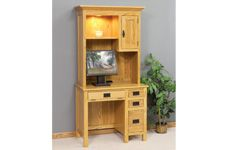 Amish built hardwood Office Secretary Desks & Tables by Homestead Furniture in Mt Hope, Ohio. Bring in your design for them to build or choose the style you love from their Showroom. http://homesteadfurnitureonline.com/office_secretarydesks.html