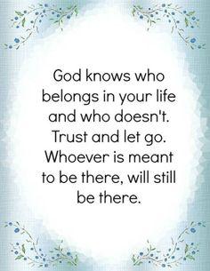 Heb vertrouwen in God.