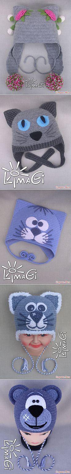 original pattern here: Cloud Mobile Crochet Pattern Crochet Kids Hats, Crochet Cap, Crochet Baby Booties, Crochet Beanie, Cute Crochet, Crochet Stitches, Knitted Hats, Knitting Patterns, Crochet Patterns