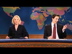 """""""GET READY FOR ZE NAPPING!"""" I don't know how SNL will survive without Amy and Seth."""