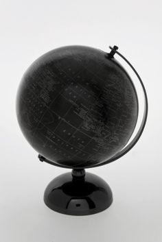 Black metal globe... I have this beauty :)