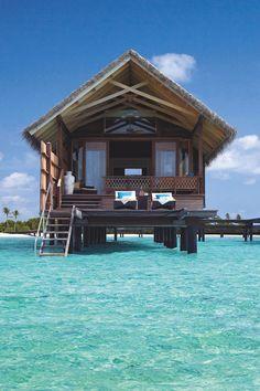 livingpursuit:  Shangri-La's Villingili Resort & Spa
