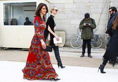 Street Style: Paris Fashion Week Fall 2014 Part Two - Vogue