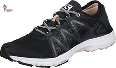 Salomon  Crossamphibian Swift W, Sneakers trail-running femme - noir - Noir / Pêche (Black/Phantom/Peach Nectar), 38 2/3 EU - Chaussures salomon (*Partner-Link)