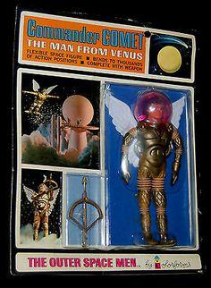 Commander Comet - The Man From Venus