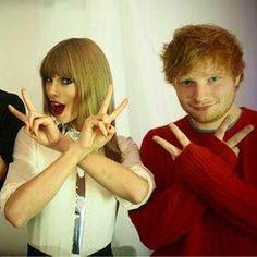 Ed Sheeran afirma que el humor de Taylor Swift es inglés