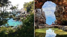 Lokrum Island Tourism, Croatia - Next Trip Tourism Croatia Tourism, Lokrum Island, Waterfall, Plants, Outdoor, Outdoors, Flora, Rain, The Great Outdoors