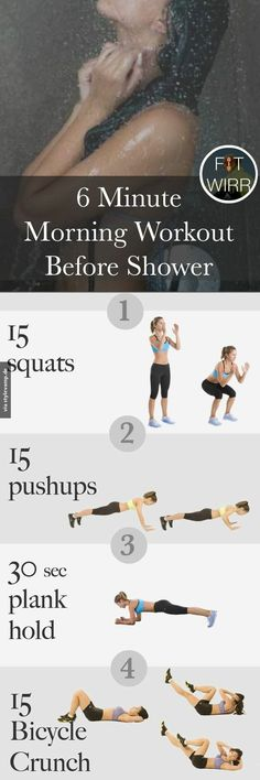 6 minute work out
