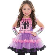 child spider girl tutu dress party city - Spider Girl Halloween Costumes