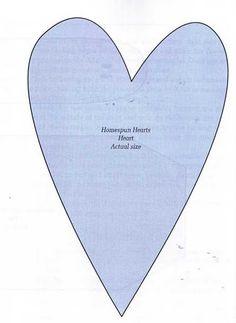 Contos de Outono Artesanatos: Como fazer corações de tecidos Patch Quilt, Hearts Rules, Candy Cane Crafts, Heart Stencil, Shape Templates, Fabric Hearts, Heart Template, Felt Hearts, Mosaic Patterns