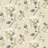 Gran Deco Aquarelle Motif Wallpaper - Neutral