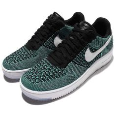 NEW Nike AF1 Ultra Flyknit Low Green Black Men Casual Shoes AF1 817419-300 SZ 10 #Clothing, Shoes & Accessories:Men's Shoes:Athletic #socialmatic05 $150.00