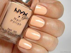 NYX Girls Nail Polish in Plain Jane