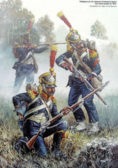 French 15th Regt. Voltiguers: