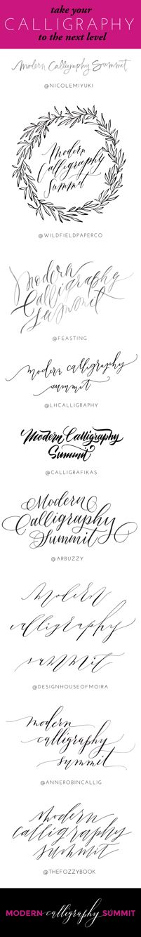 1000 Images About Learn Calligraphy On Pinterest