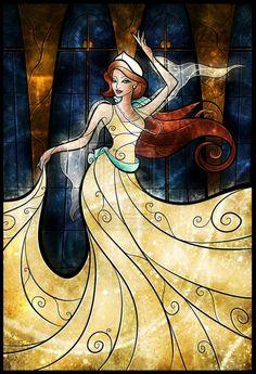 Anastasia my favorite non Disney princessXD