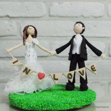 Cake Toppers em Decoração - Etsy Casamentos - Página 12