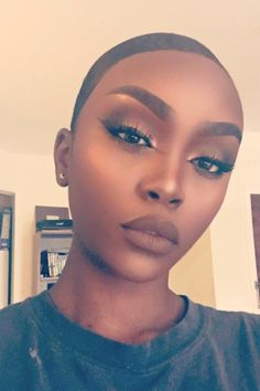 Bolder Brows  - 19 Marvelous Makeup Looks On Dark Skin