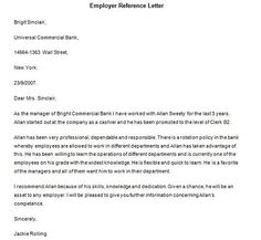 student reference letter template
