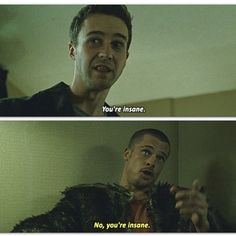 #bradpitt #EdwardNorton #fightclub #movie #elclubdelapelea #pelicula #loveit