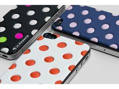 id-America Cushi Dot Soft Foam Pad for iPhone4/4S - Available in different colours