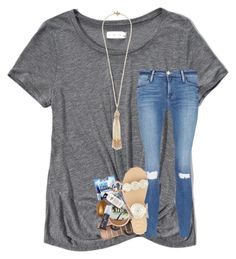 """""""RTD"""" by lindsaygreys ❤ liked on Polyvore featuring Abercrombie & Fitch, Frame, Jack Rogers, Urban Decay, philosophy, Kim Rogers, Miriam Haskell, bathroom and jesustalkoftheday"""