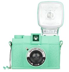 What a cute mint camera! #InspiredByElle