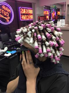 he can't bear to look Short Permed Hair, Permed Hairstyles, Medium Hair Styles, Curly Hair Styles, Cosmo Girl, Afro Curls, Perm Rods, Creative Hairstyles, Cosmetology