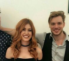Katherine x Dominic Clary Et Jace, Clary Fray, Shadowhunters Tv Show, Shadowhunters The Mortal Instruments, Christian Ozera, Freeform Tv Shows, Cassie Clare, Dominic Sherwood, Jamie Campbell Bower