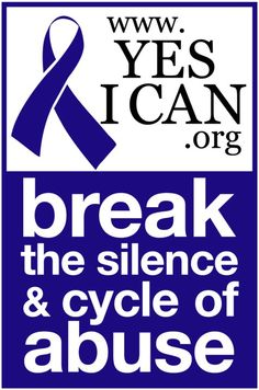 Emily and Sharyn are both volunteers for this wonderful nonprofit, YesICAN.  Sharyn is a board member and Emily currently works on their Social Media- Surprise! Please show them your support and help break the silence & cycle of abuse.   visit them at http://www.yesican.org/      www.pinterest.com/YesICANorg  #ChildAbuse #DomesticViolence