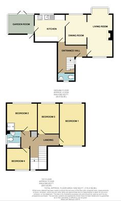 Living Room Kitchen, Kitchen Dining, Dining Room, Entrance Hall, Floor Plans, Flooring, How To Plan, Bedroom, Kitchen Dining Living