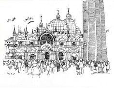 Venice on the spot by James Richards