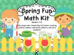 Spring Math Kit!