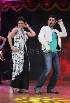 Deepika Padukone in black lehenga