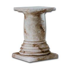 Merveilleux Faux Stone Pedestal Dining Table Base