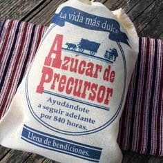 You asked for it And here it is! The SPANISH Pioneer Sugar bags!  Te gusta?