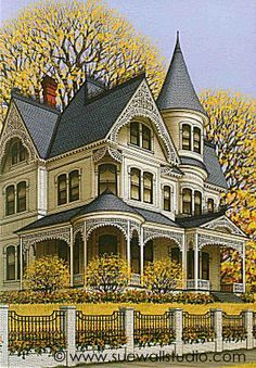 Sue Wall - Victorian Home II