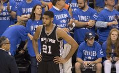 Thunder down Spurs, face Warriors in conference finals