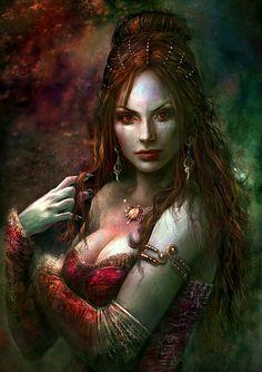 Victoria Art Fantasy - Vampire - Art